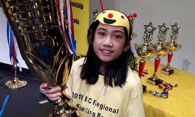 Hanna May Ramis wins B.C. spelling bee
