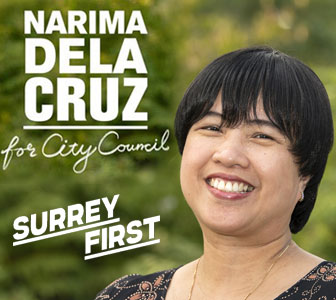 Narima De la Cruz Surrey First