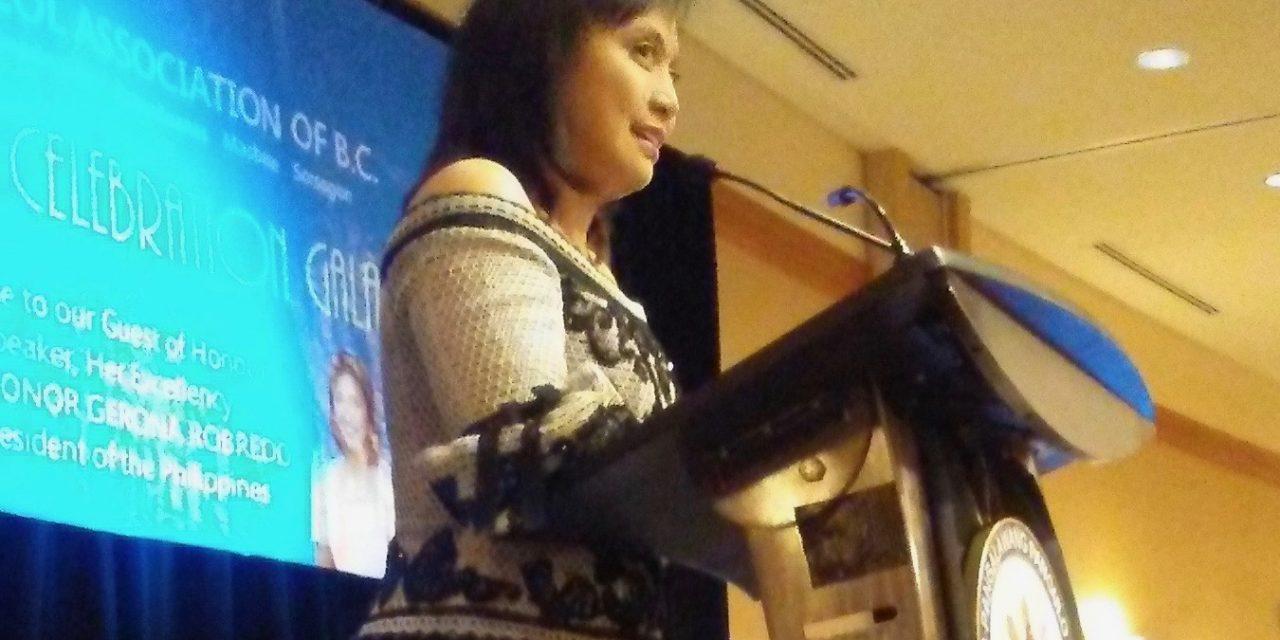 """Hindi tayo ganoon…, "" VP Leni Robredo told audience"