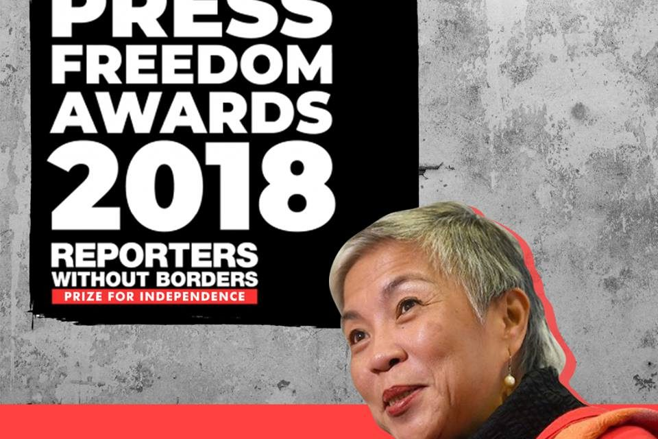 Inday Espina-Varona, Maria Reesa win international journalism awards