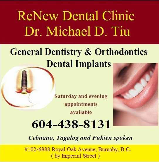 Dr Michael Tiu Burnaby Dentist